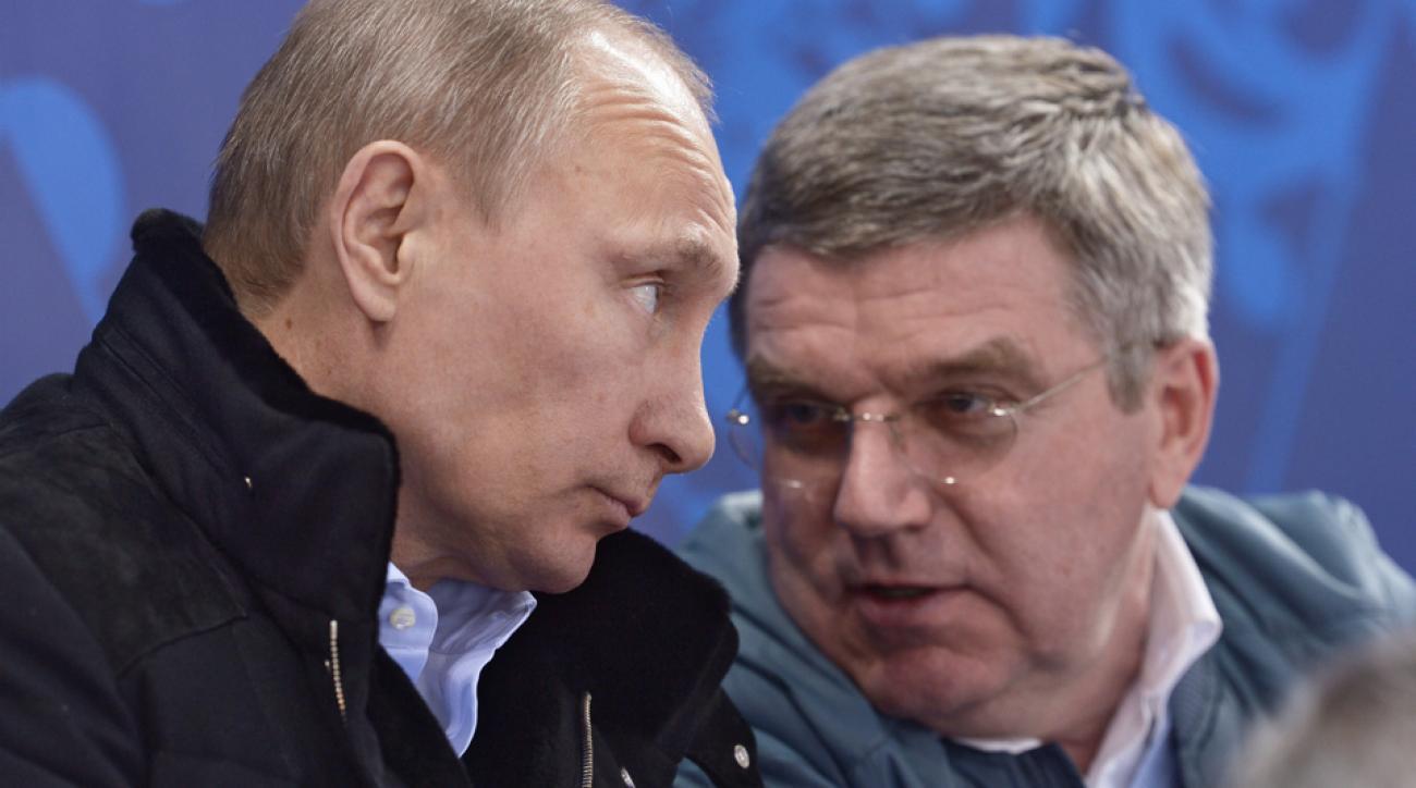 russia track team banned olympics putin ioc support