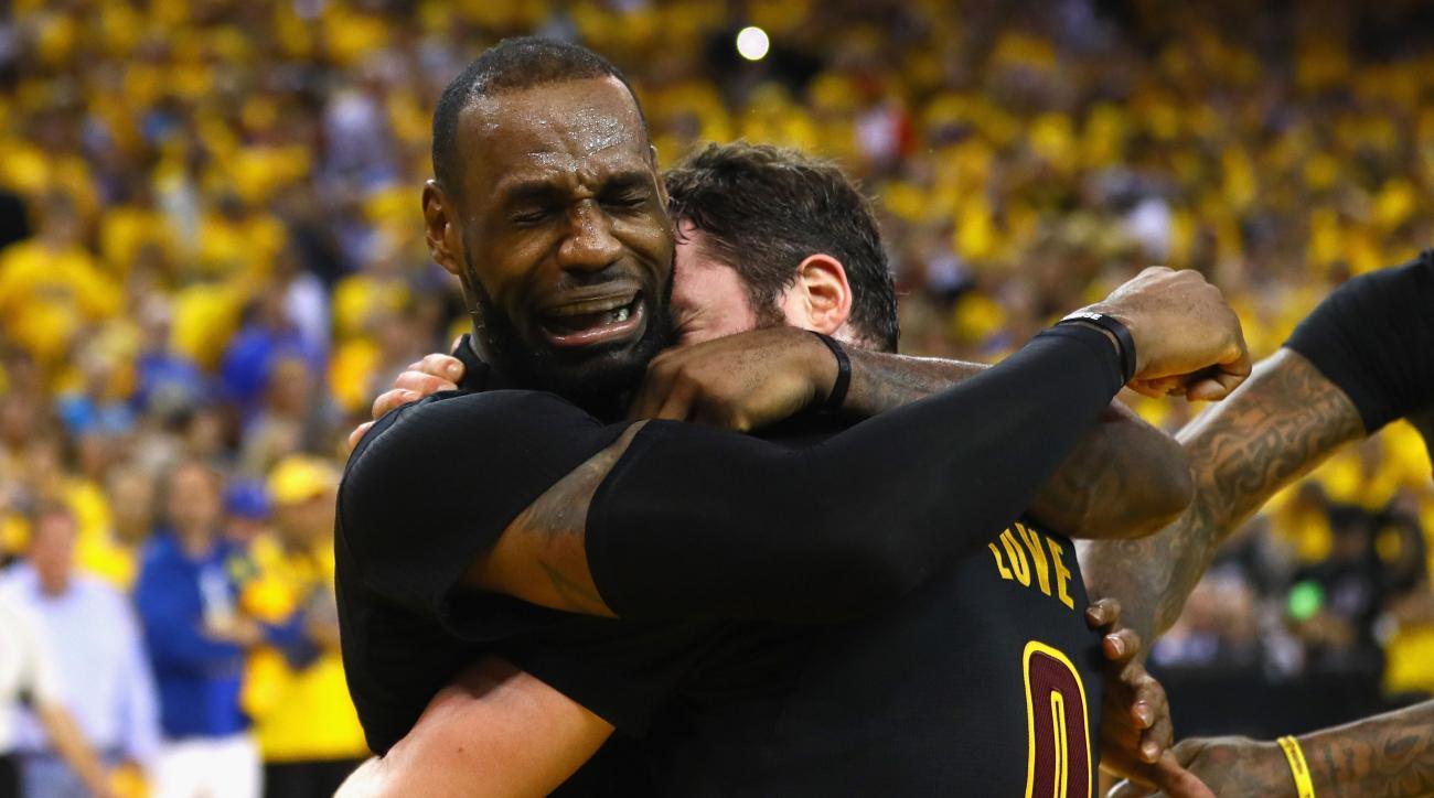 b9dab0a8a376 LeBron James, Cavs NBA title celebration: Video   SI.com