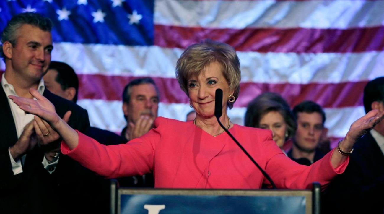Linda McMahon helped make the WWE into a success and is now launching Women's Leadership LIVE