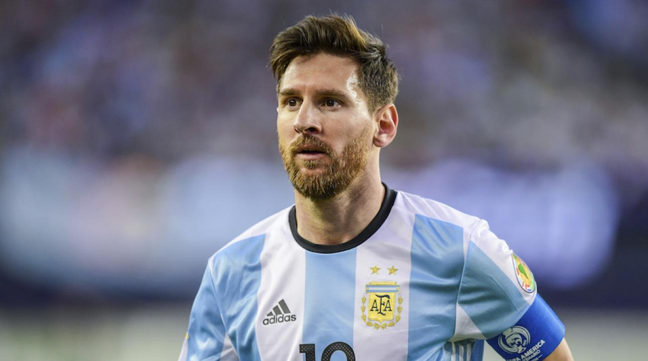 Lionel Messi goal video Argentina star sets record on amazing