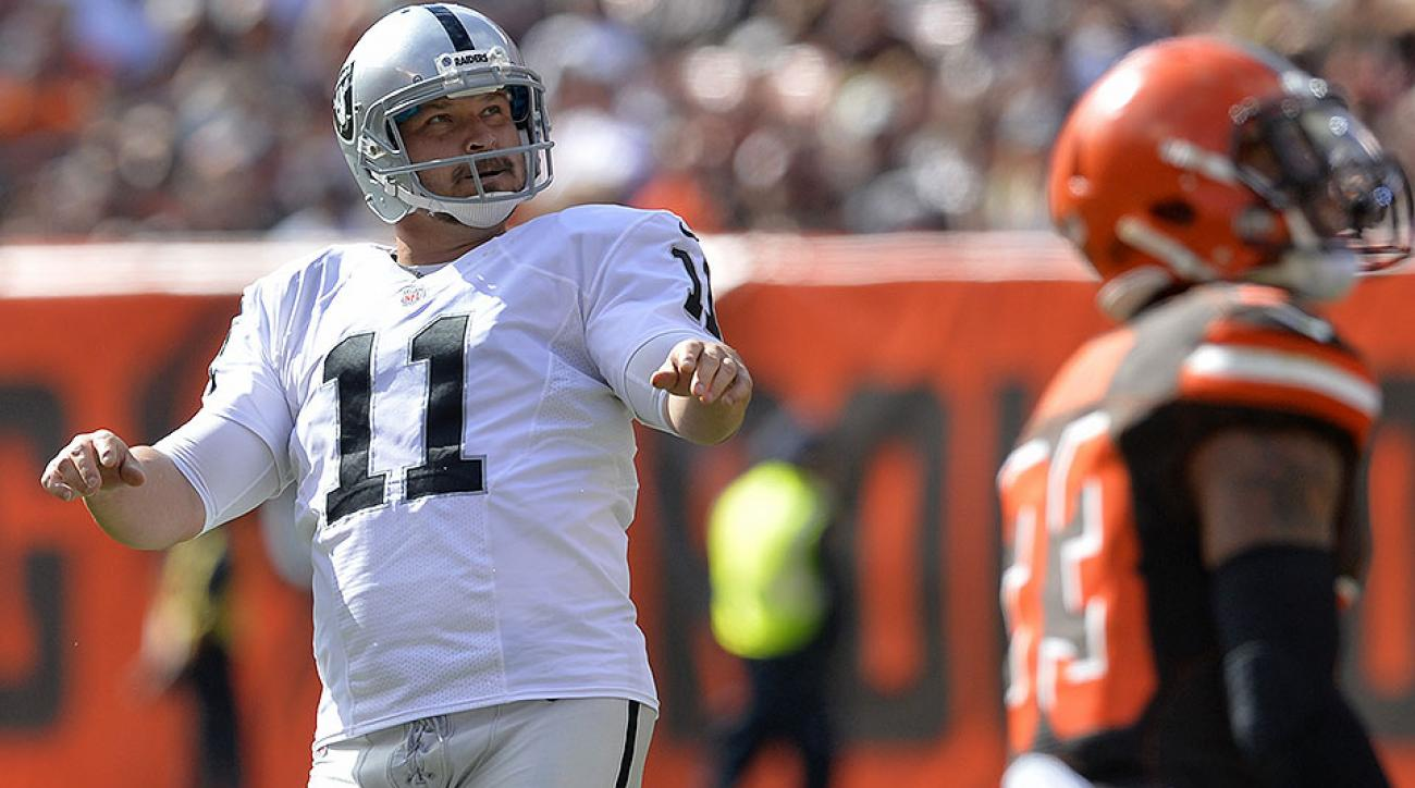 Sebastian Janikowski: Raiders kicker's NFL career survives first-round draft pick, arrests