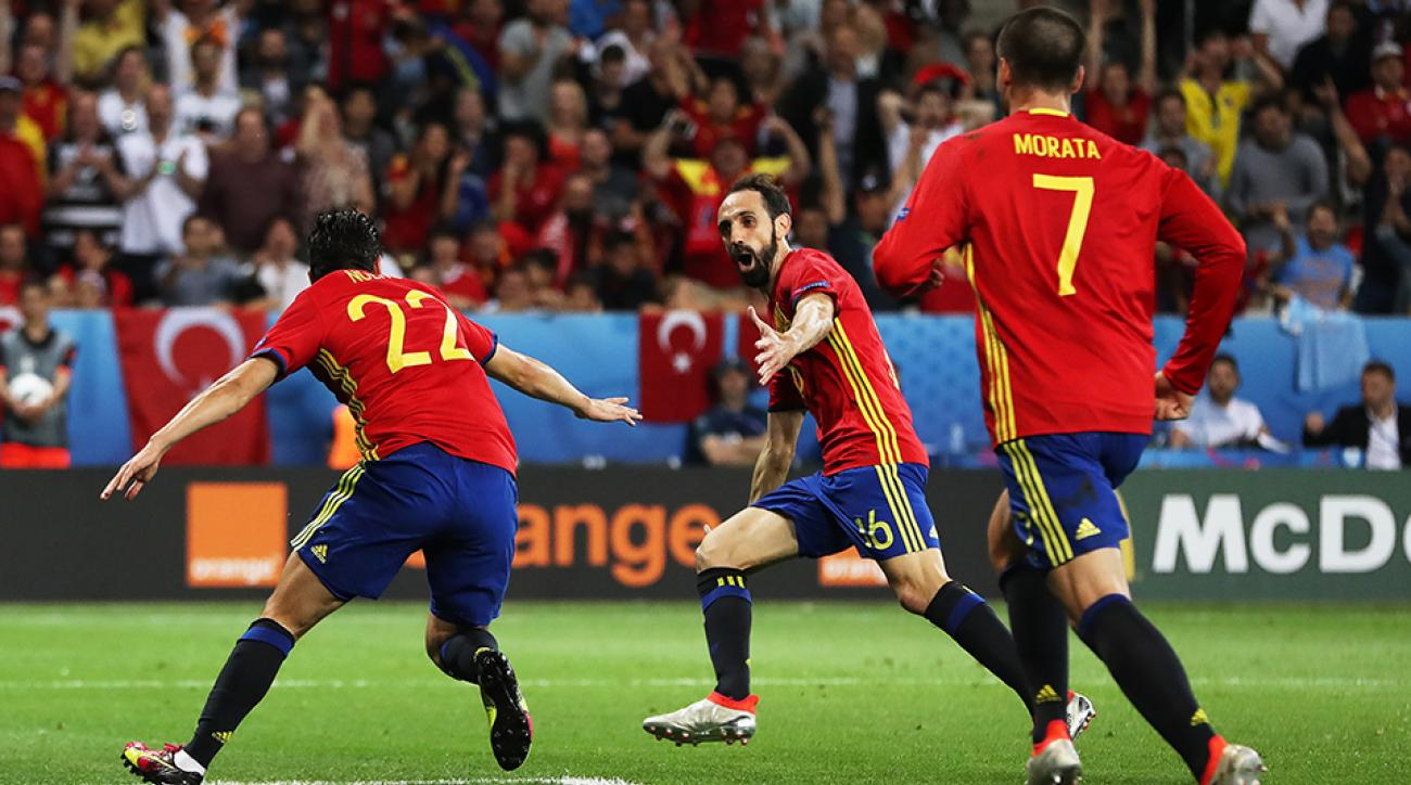spain croatia watch online live stream euro 2016
