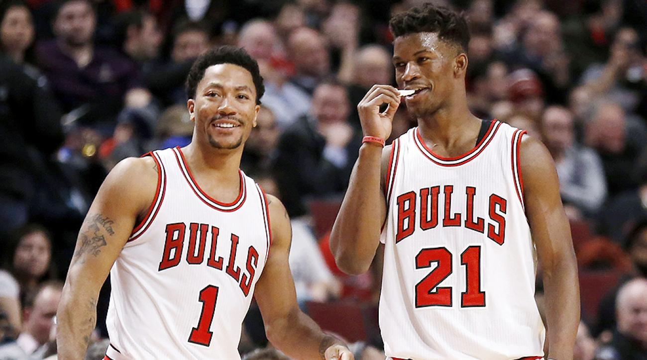 Jimmy Butler Posts Instagram Tribute To Derrick Rose