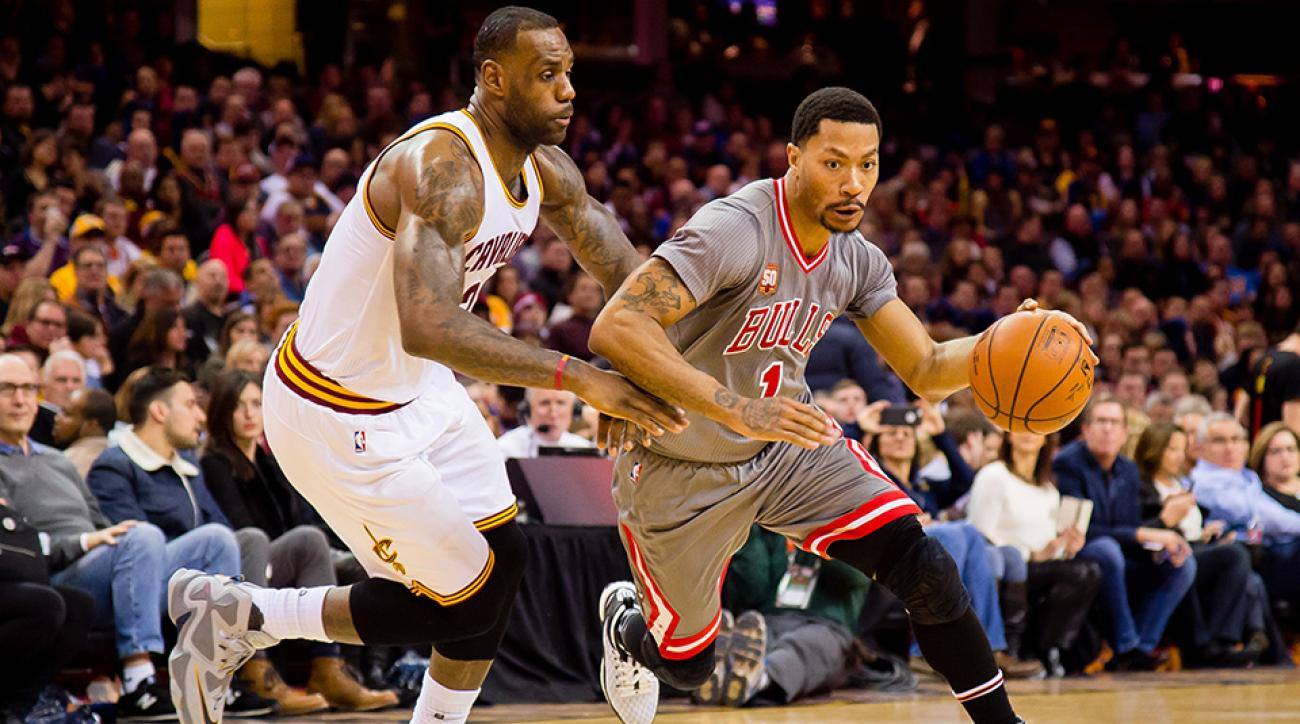 68fd8da9937c Derrick Rose s legacy will live under LeBron James s long shadow