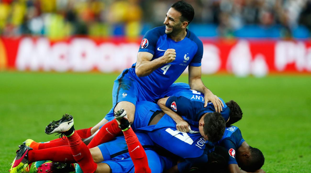 France remains a slight favorite heading into the Euro 2016 knockout stage