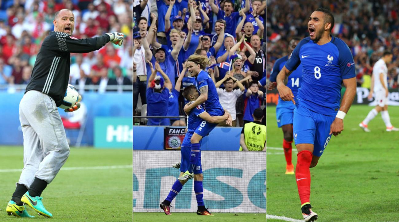 Gabor Kiraly, Iceland and Dimitri Payet have stolen the show at Euro 2016