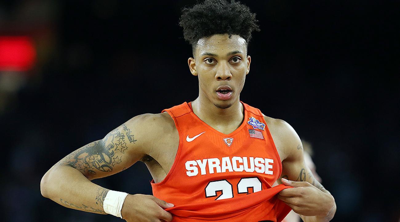Hornets pick Malachi Richardson, trade him to Kings at 2016 NBA draft