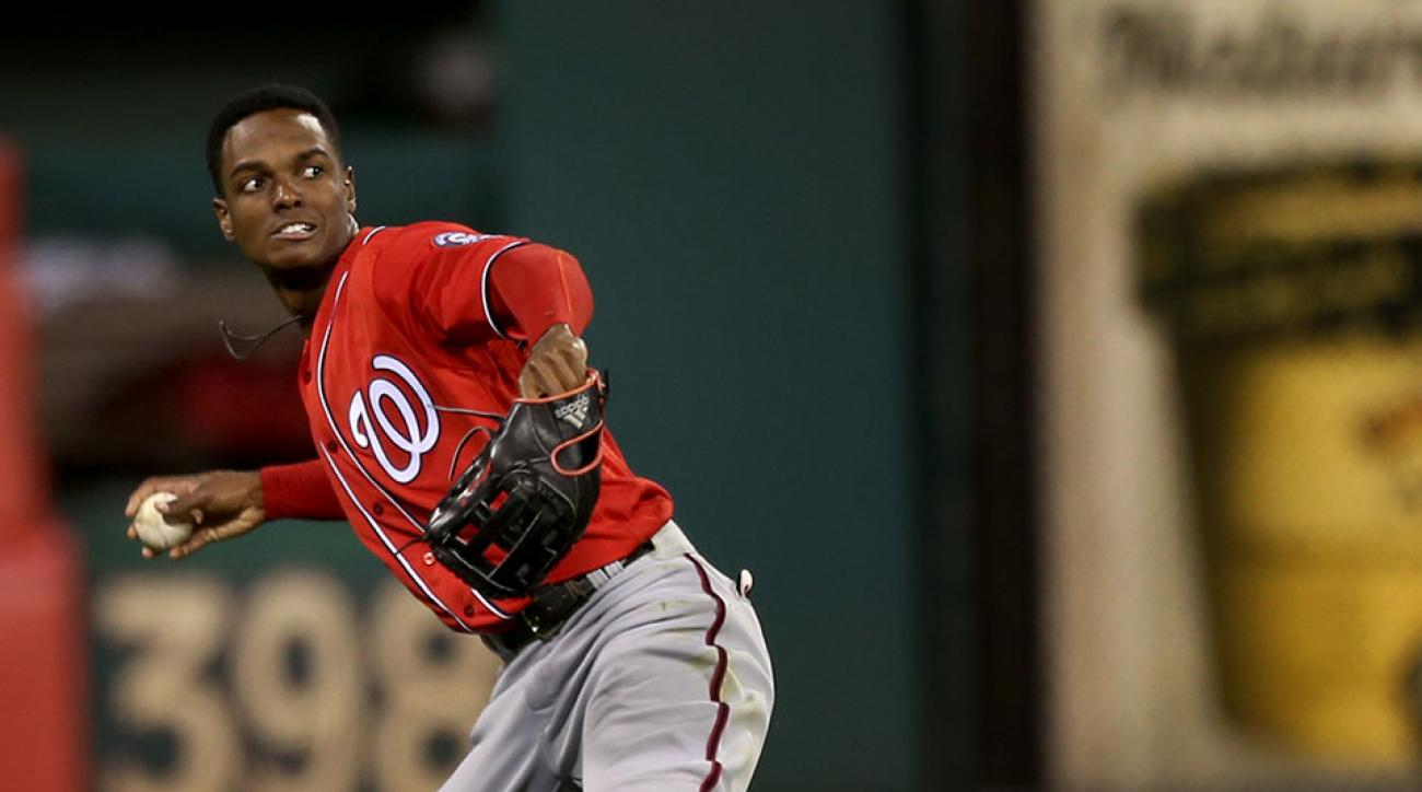 washington nationals michael taylor los angeles dodgers yasiel puig