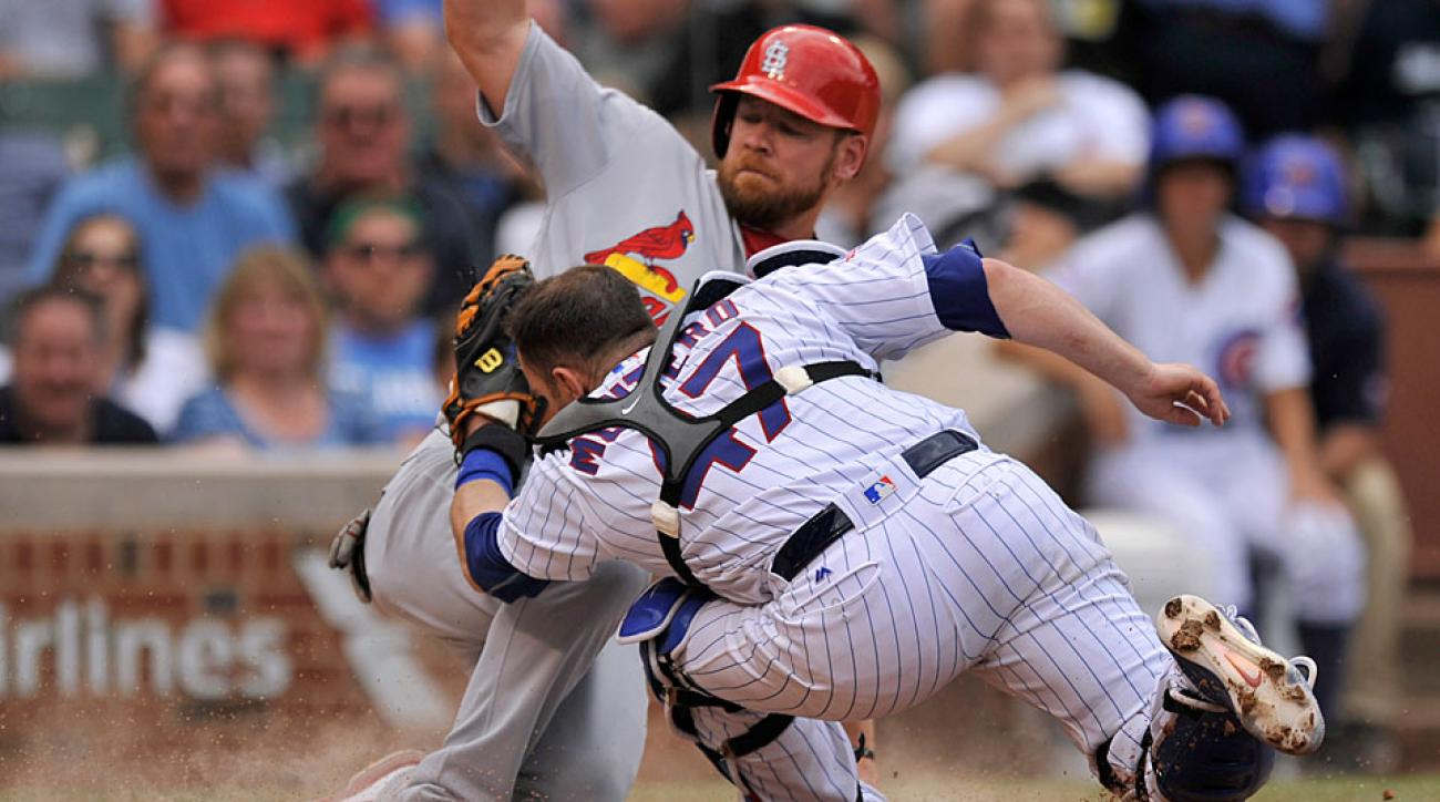 Brandon Moss, St. Louis Cardinals and Miguel Montero, Chicago Cubs
