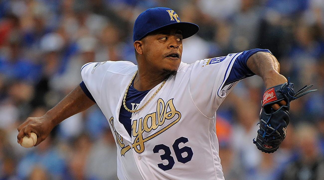 Kansas City Royals Edinson Volquez