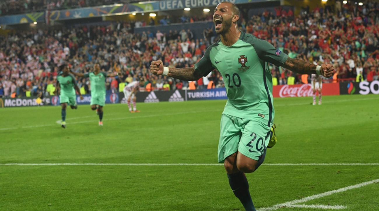 Ricardo Quaresma scores the winner for Portugal vs. Croatia