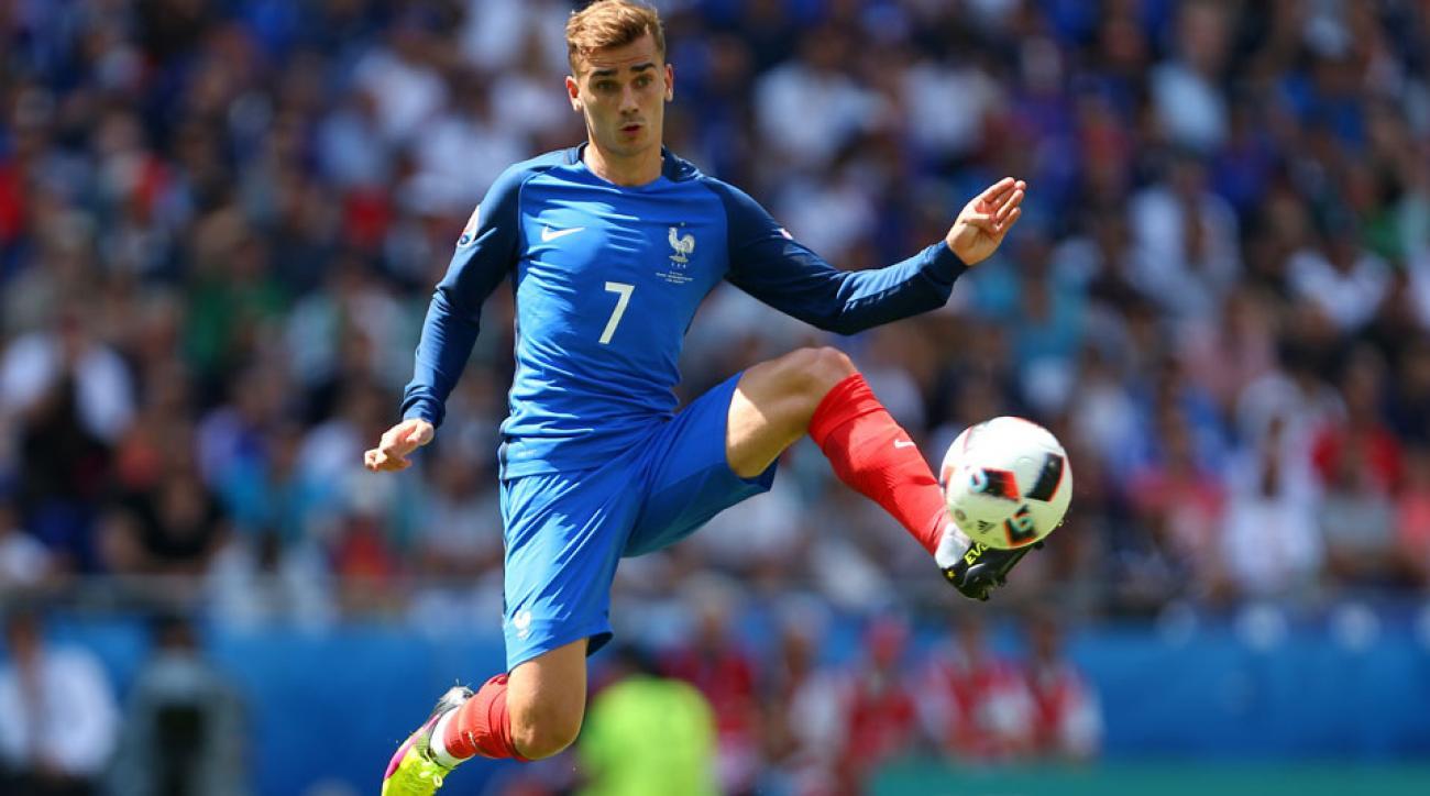 Antoine Griezmann scores two goals for France vs. Ireland
