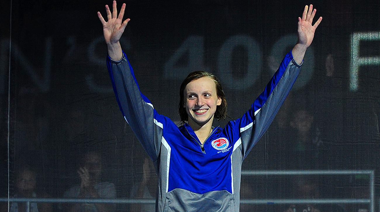 Katie Ledecky displays dominance at Day 2 of U.S. Olympic Swimming Trials