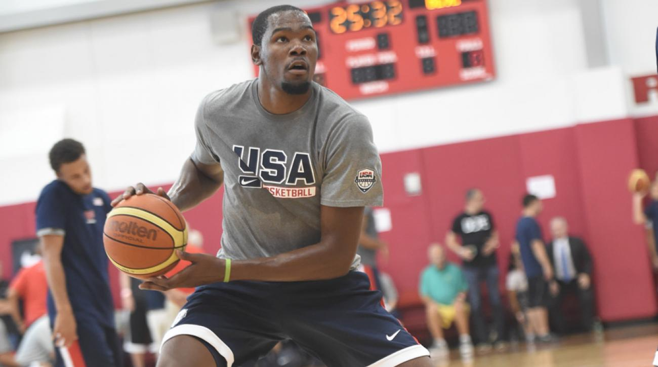 kevin durant usa basketball roster