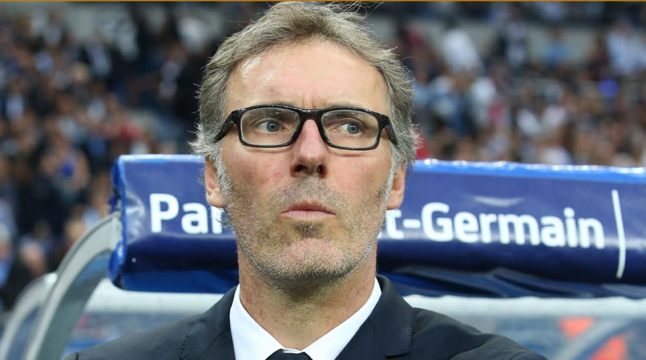 Laurent Blanc is out as PSG manager