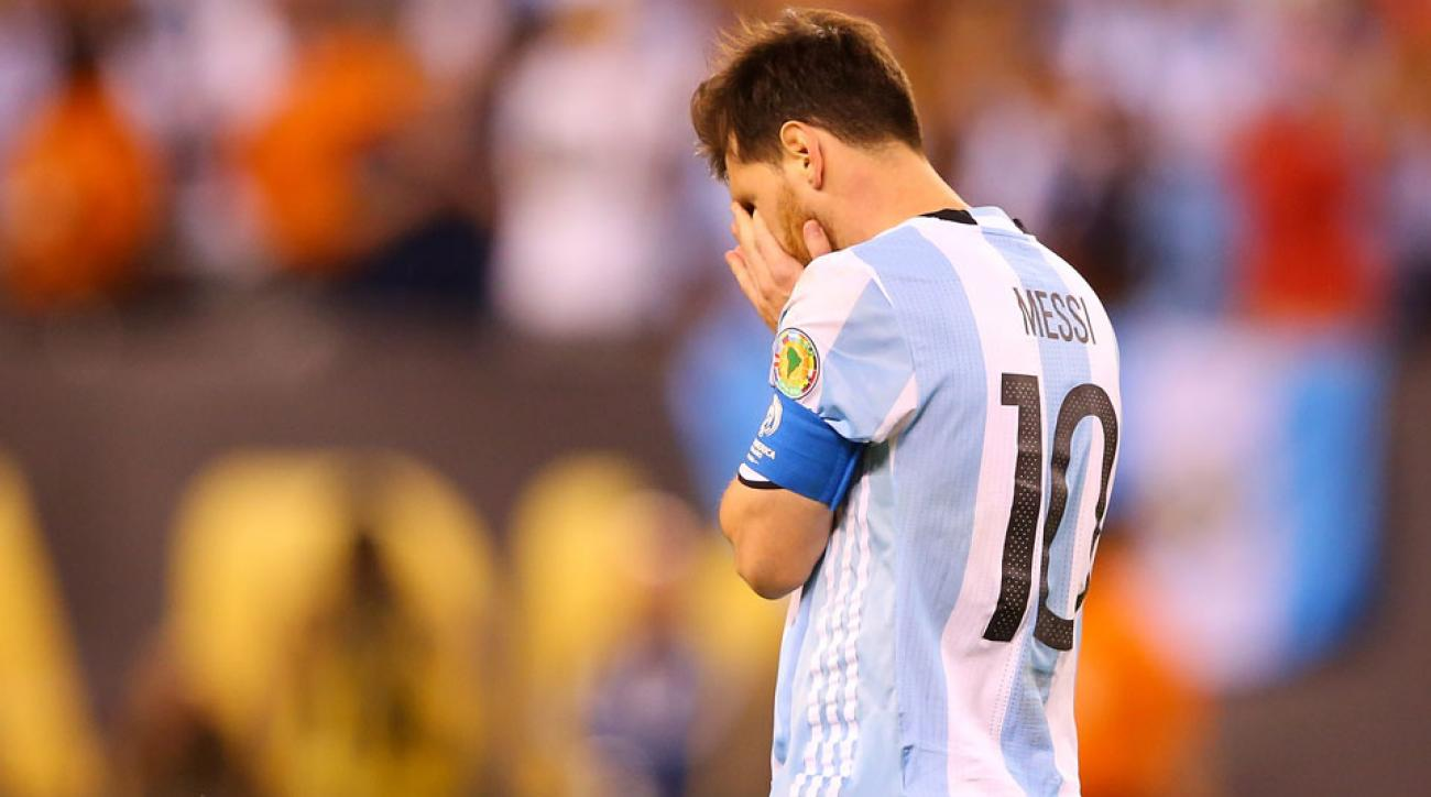 Lionel Messi may be retiring from the Argentina national team