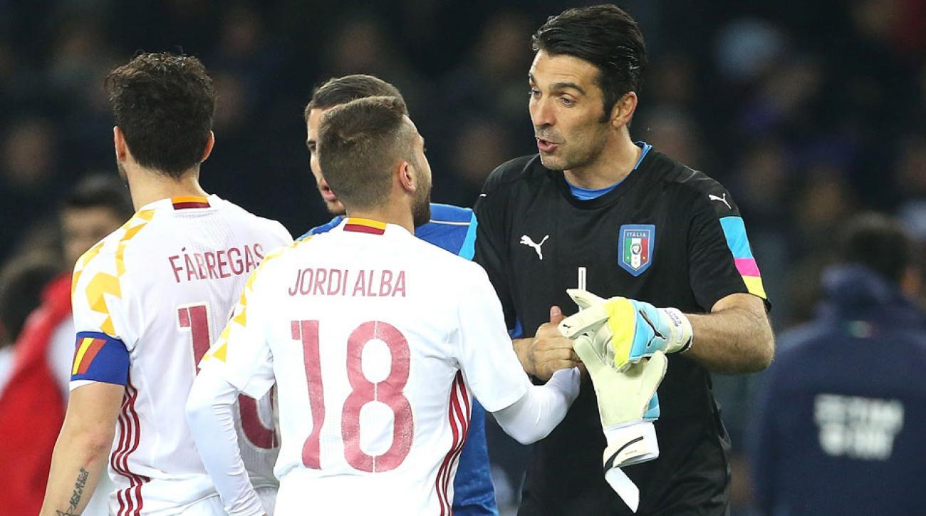 Follow Spain vs. Italy at Euro 2016