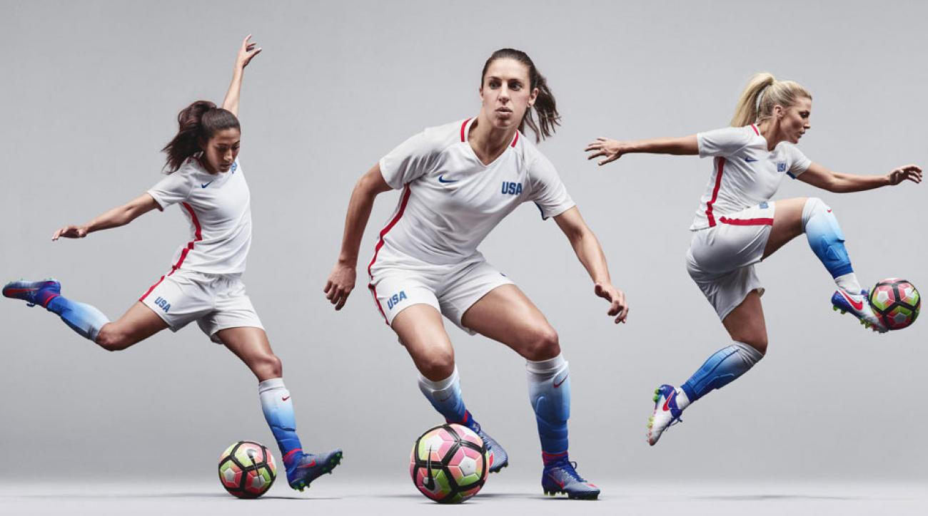 The U.S. women's national team will have a new jersey for the Olympics
