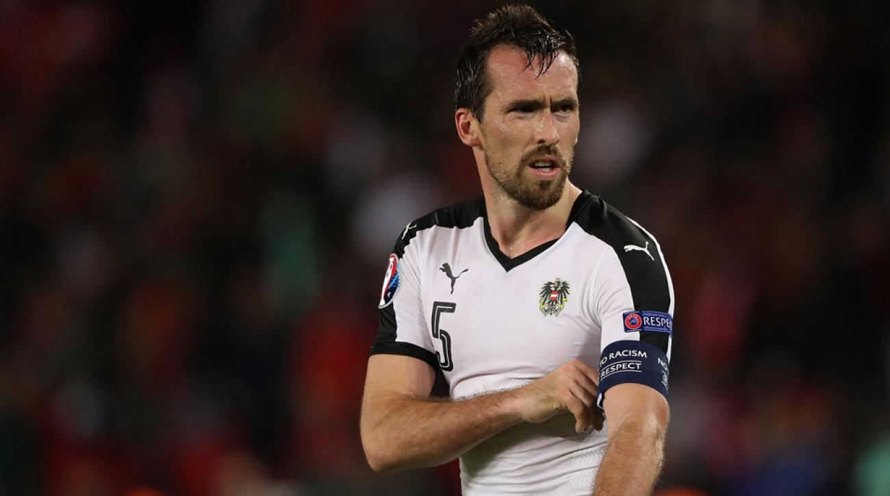 Christian Fuchs is retiring from international duty with Austria