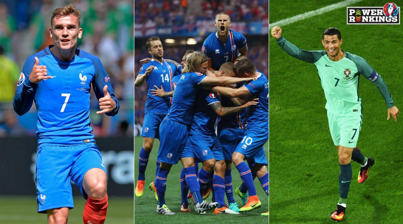 France, Iceland, Portugal remain alive in Euro 2016