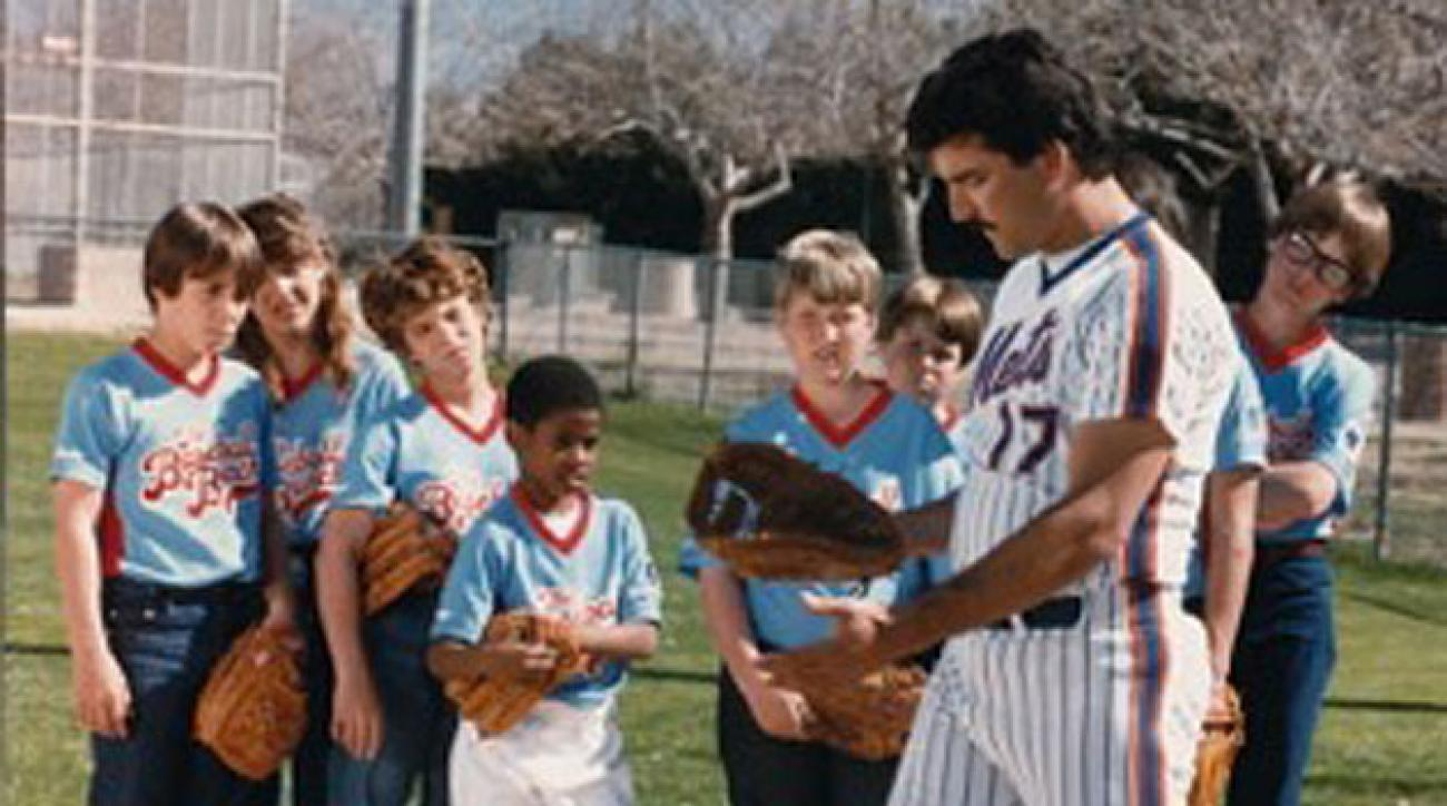 Keith Hernandez, New York Mets, on The Baseball Bunch
