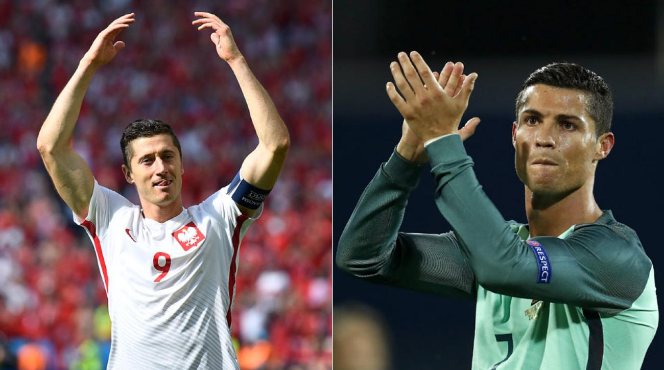 Follow Poland vs. Portugal in the Euro 2016 quarterfinals