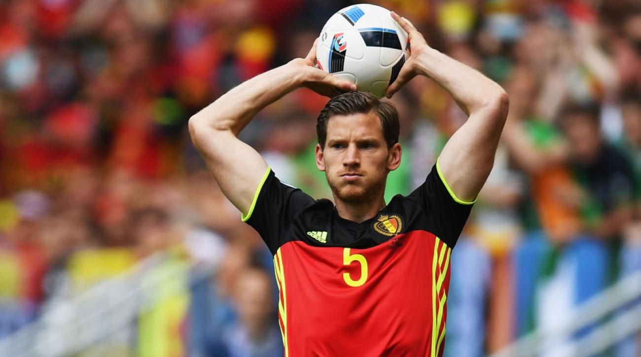 Belgium's Jan Vertonghen is out for the rest of Euro 2016