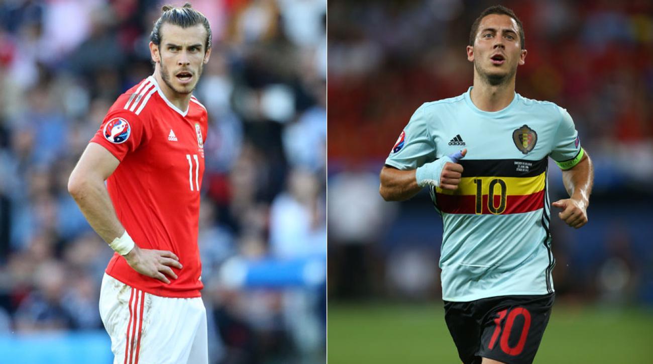 Follow Belgium vs. Wales in the Euro 2016 quarterfinals