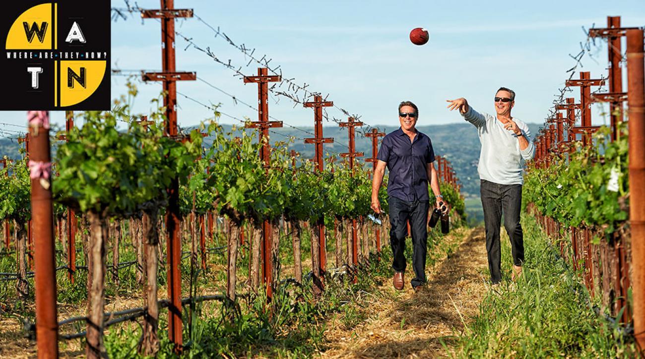 Drew Bledsoe wine: Patriots quarterback, Rick Mirer among athletes retiring to vineyards