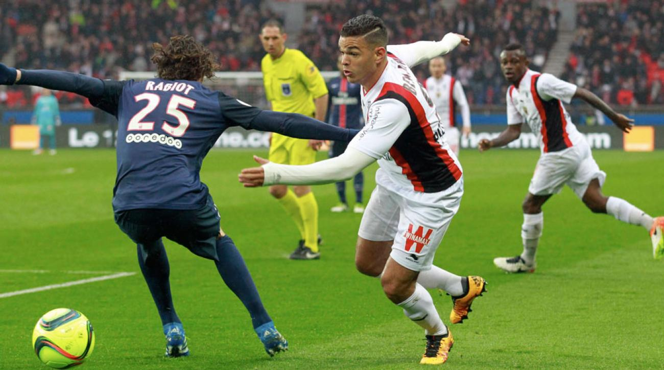 Hatem Ben Arfa joins PSG on a two-year deal
