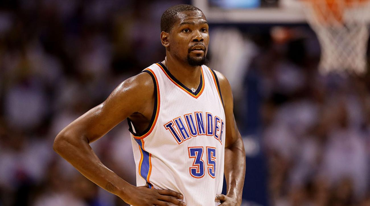 kevin durant free agent contract thunder warriors celtics