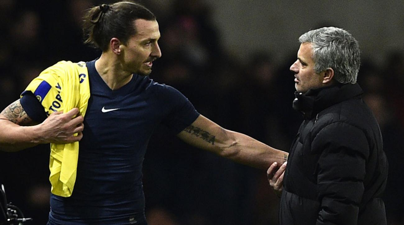 Jose Mourinho and Zlatan Ibrahimovic are reunited at Manchester United