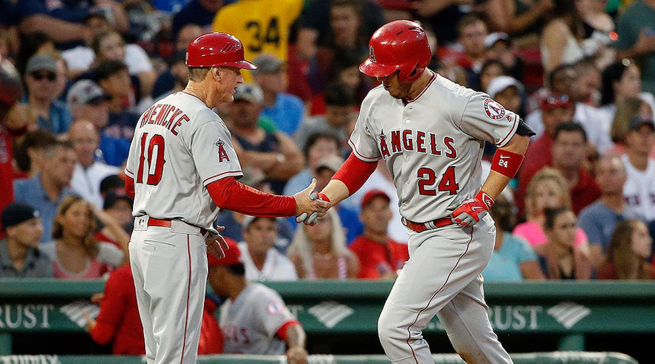 Los Angeles Angels CJ Cron