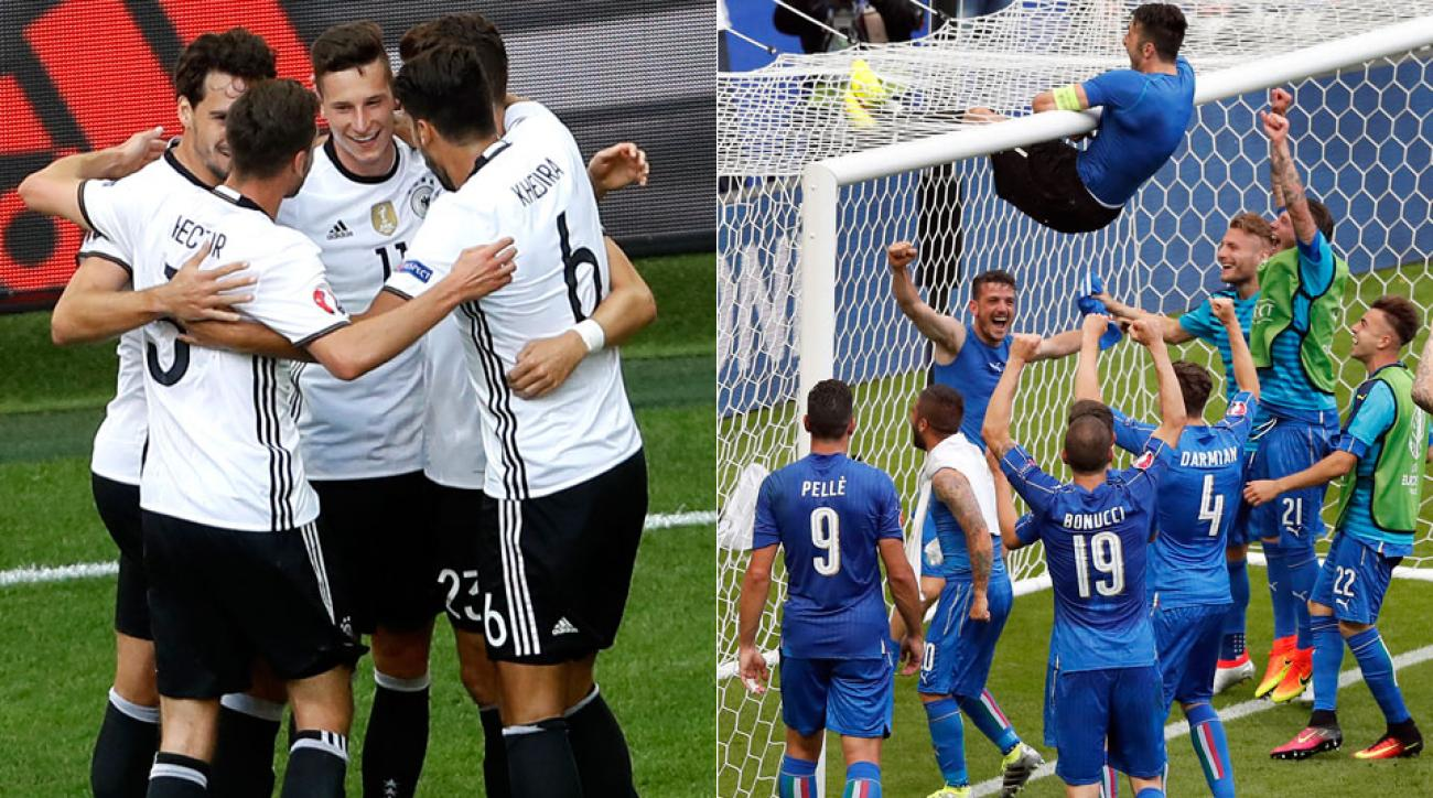Follow Germany vs. Italy in Euro 2016 quarterfinals