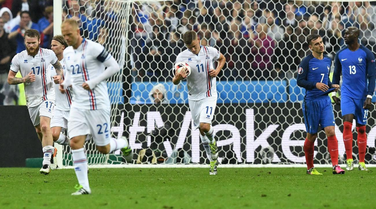 Iceland bows out of Euro 2016 with a 5-2 loss to France