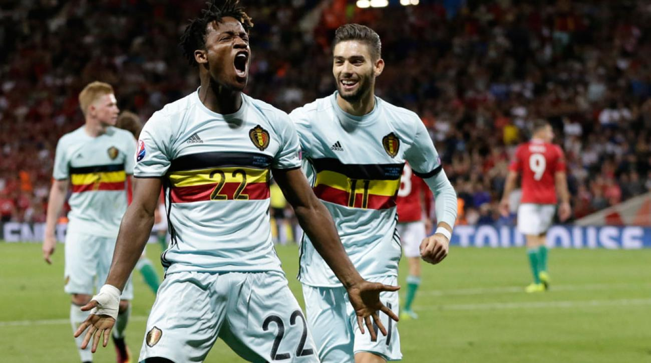 Michy Batshuayi joins Chelsea on a five-year deal in a transfer from Marseille