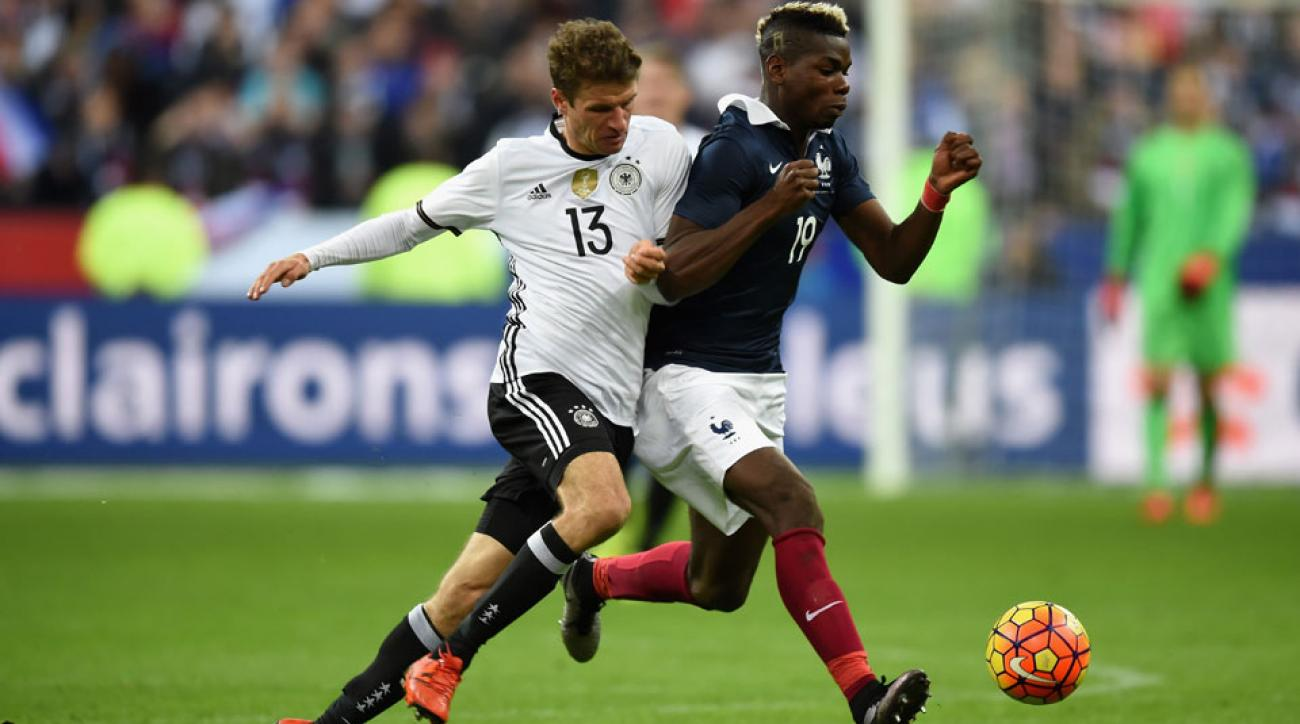 France will play Germany in the Euro 2016 semifinals