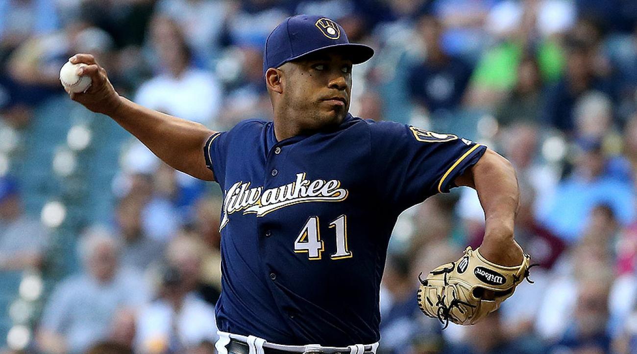 Milwaukee Brewers Junior Guerra