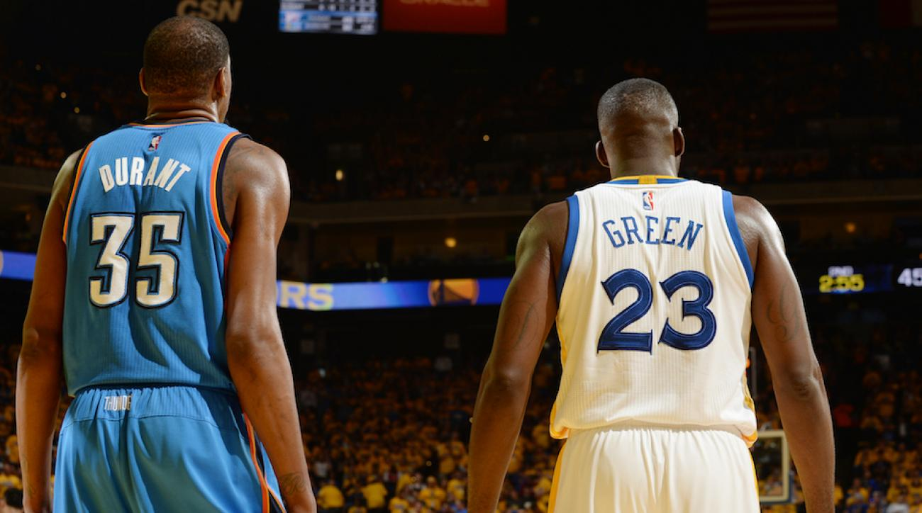 kevin durant draymond green warriors biggest moves
