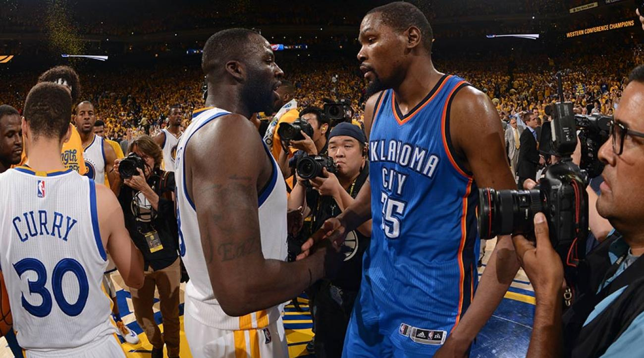 25b3343b0e4 Draymond Green opens up on Durant  How he recruited KD and more