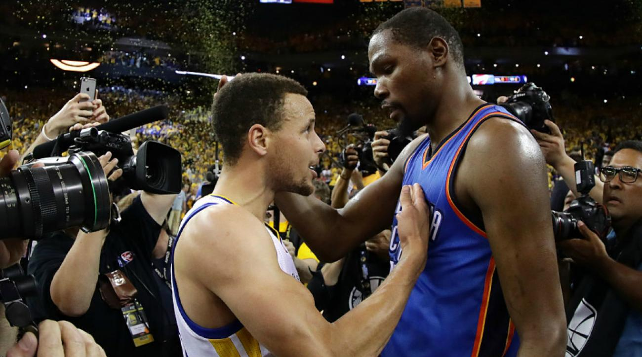 c1eadc95c4e2 Kevin Durant to Warriors  Stephen Curry s sales pitch