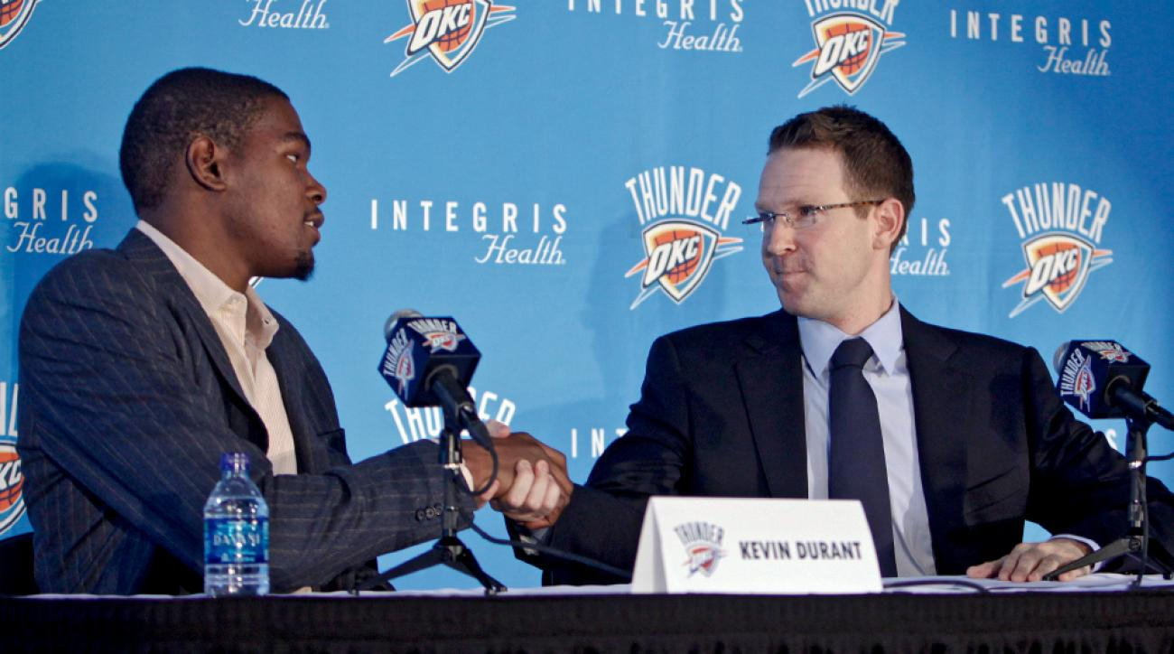 Kevin Durant Quote Kevin Durant To Warriors Thunder Gm Comments On Move  Si