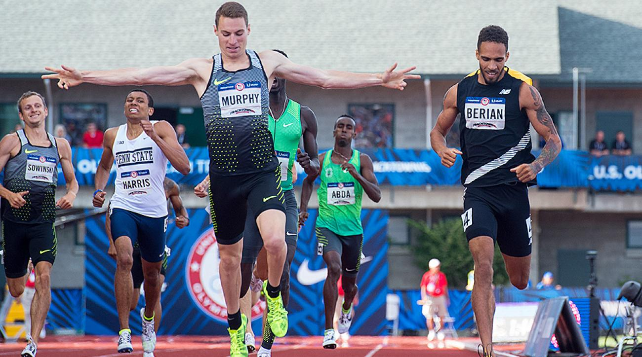 Clayton Murphy qualifies for the Olympics at the U.S. track and field trials