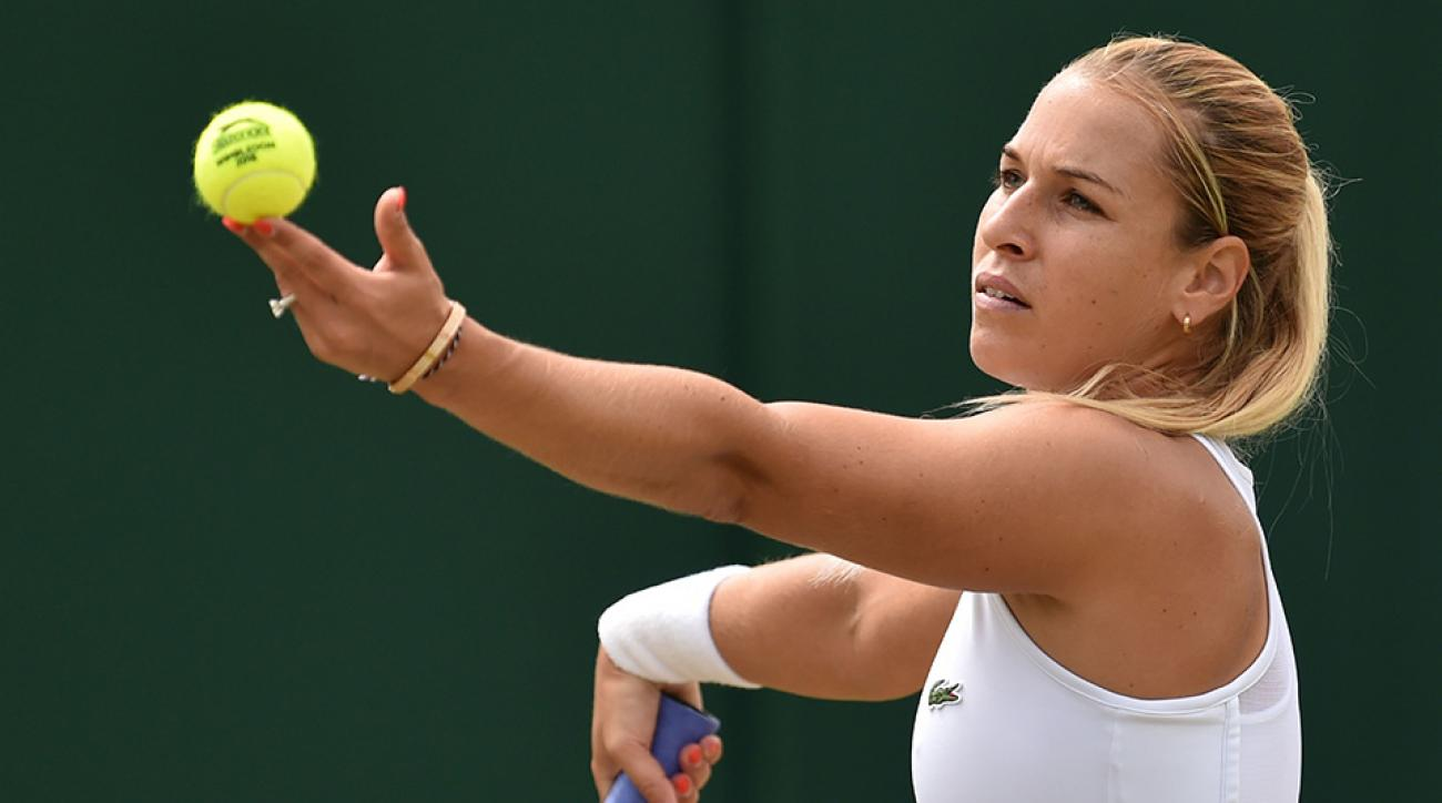dominika cibulkova tennis balls smell video