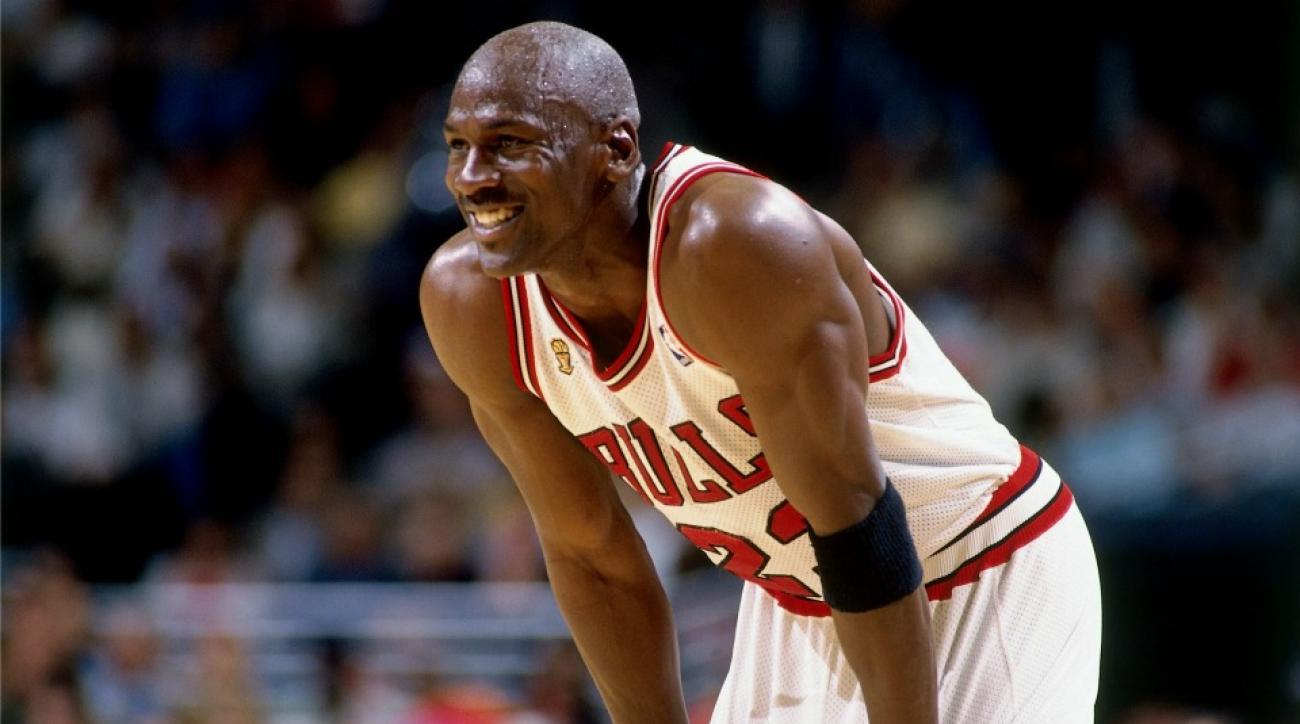 Michael Jordan fan wears full uniform to pick up game