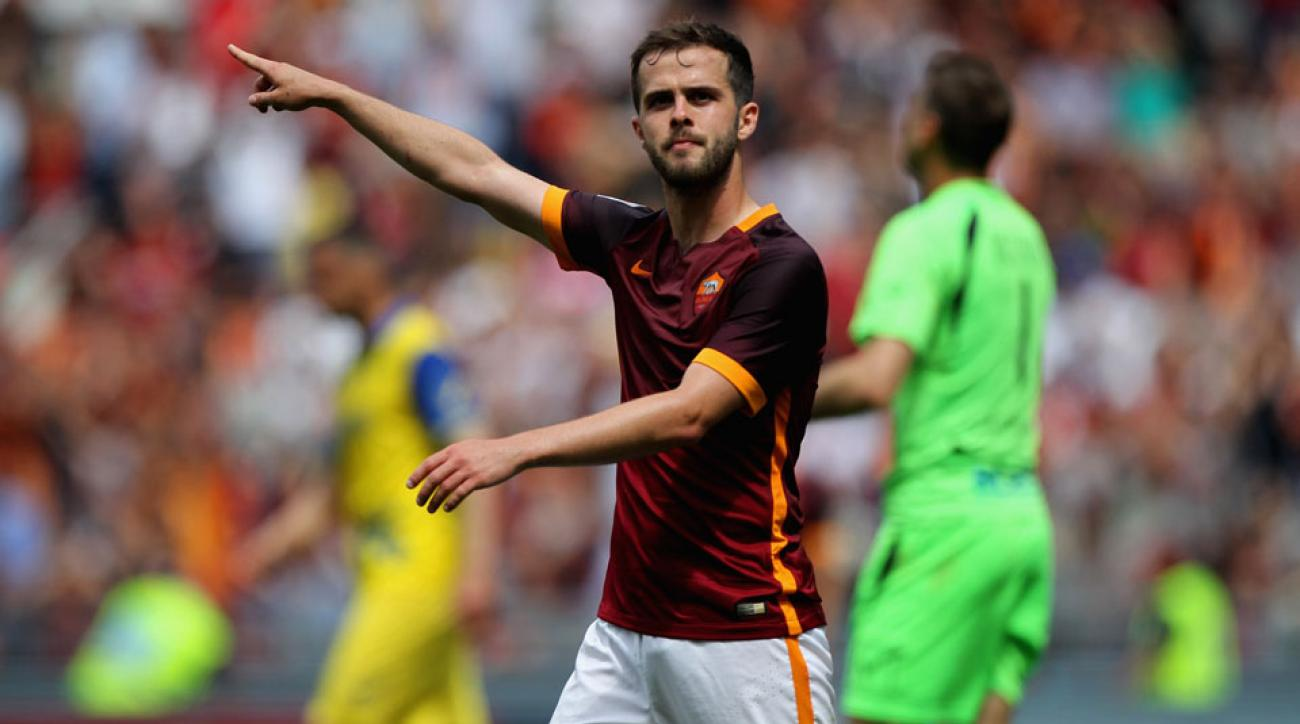Miralem Pjanic leaves AS Roma for Juventus