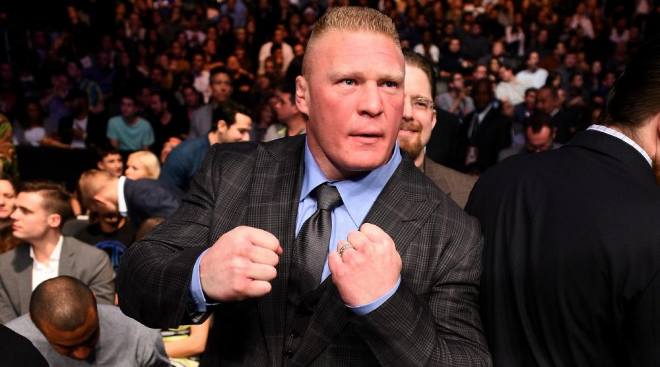 Brock Lesnar is ready for Mark Hunt at UFC 200