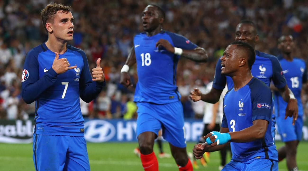 Antoine Griezmann and France are on their way to the Euro 2016 final