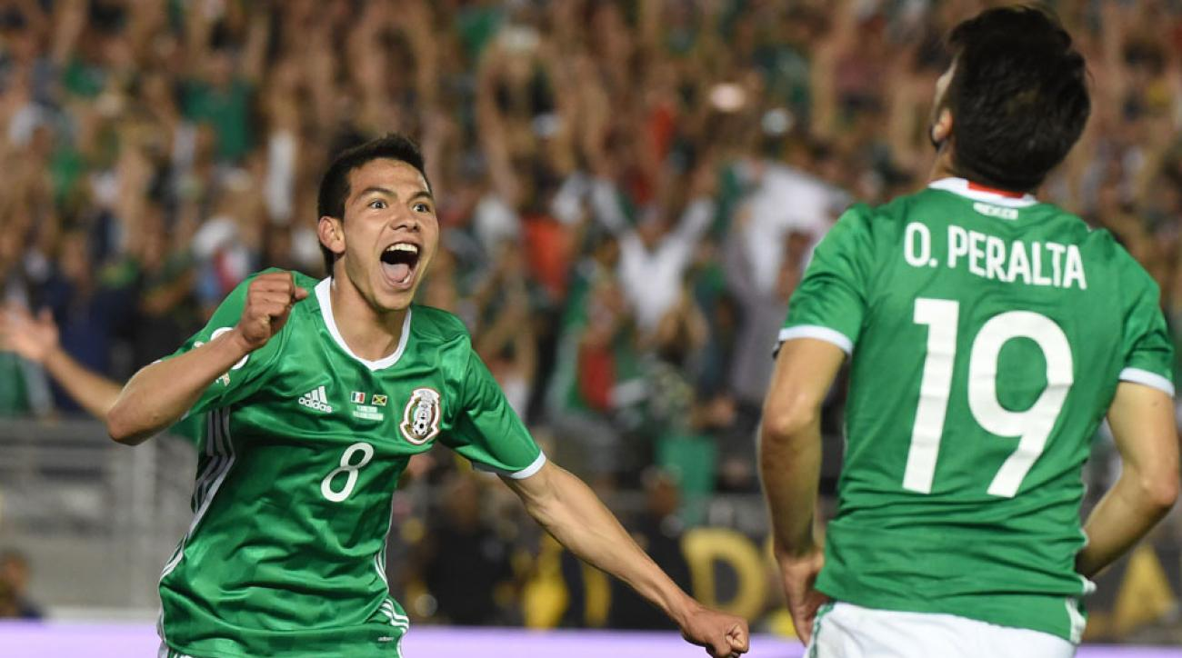 Hirving Lozano and Oribe Peralta lead Mexico's Olympic team