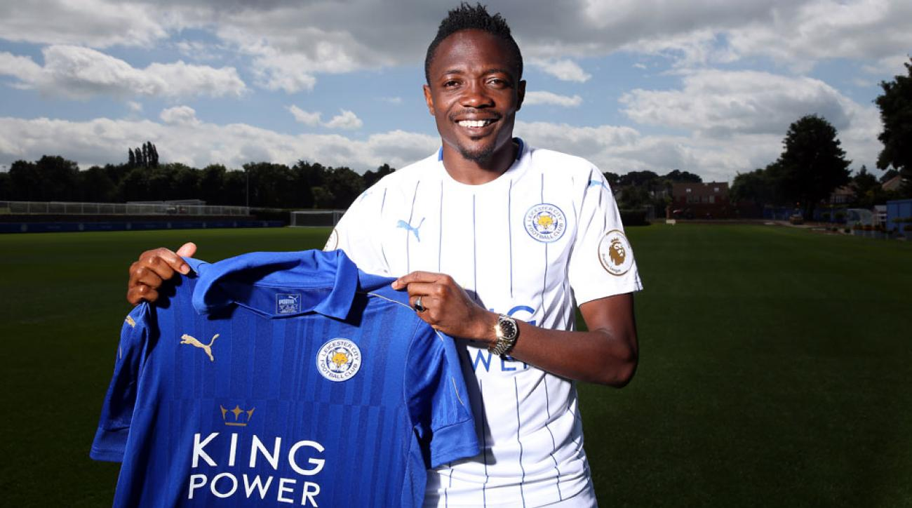 Ahmed Musa has signed with Leicester City